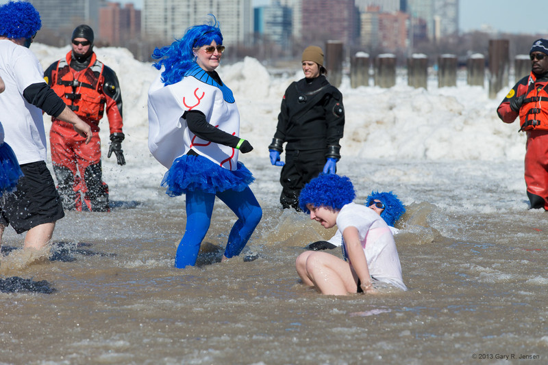 Kathy's Plunge!