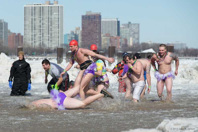 Polar Plunge - Head First! ????