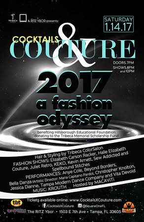 Cocktails & Couture 2017: A Fashion Odyssey