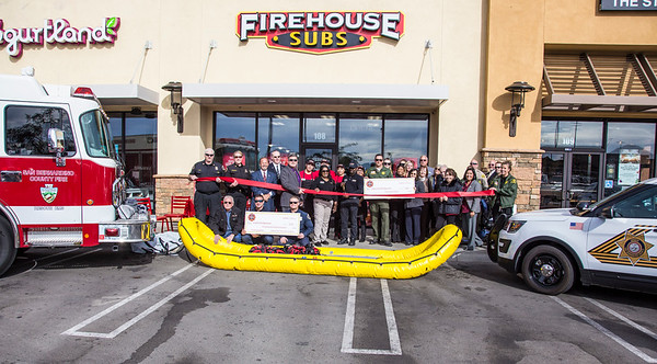 Hesperia Fire House Subs Grand Opening, 12-01-2016