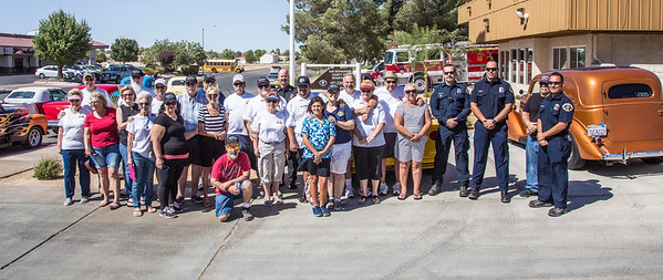 Sunset Car Club - Chemical Wagon Ceremony. Station 4,  09/03/16