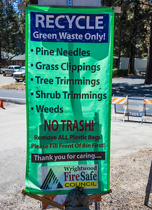 Green Waste, Wrightwood, 06/05/2016
