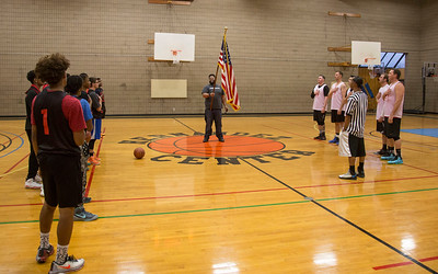 Youth vs Public Safety Basket Ball Game, 01/27/2017