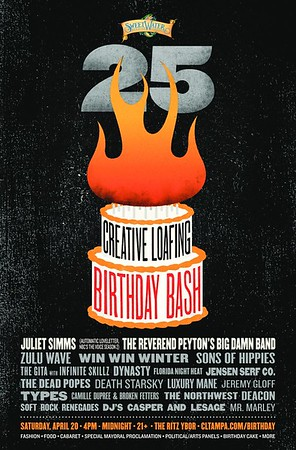 Creative Loafing 25th Birthday Bash  (April 20, 2013)