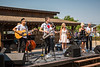 The Saturday afternoon concert at the Eli Bennett and Rosemary Siemens wedding weekend during Plumfest,  August 19-21, 2017 in Plum Coulee, Manitoba, Canada.