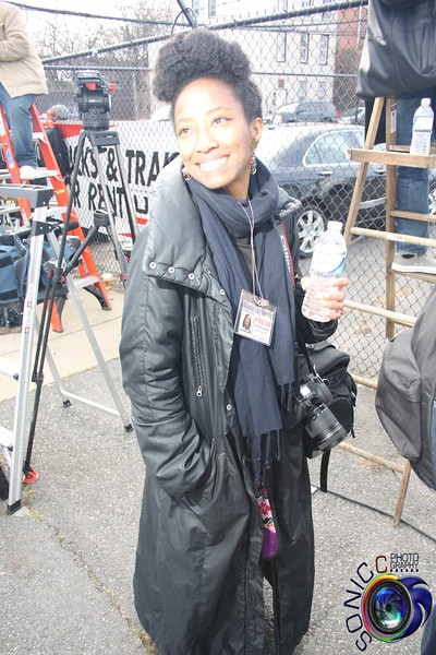 FEBRUARY 18TH, 2012: WHITNEY HOUSTON'S FUNERAL (OUTSIDE)