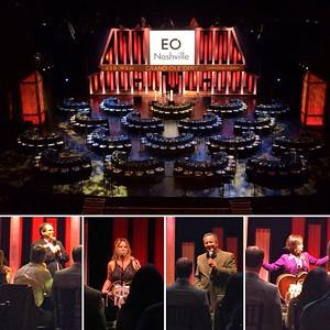 EO Nashville Dinner on Stage