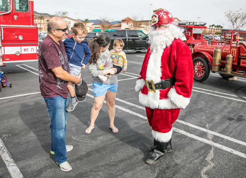Spark of Love Toy Drive, Fontana 12/10/17