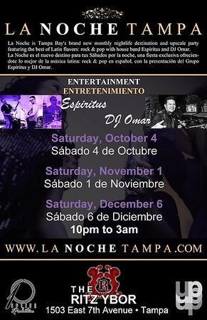 La Noche featuring Espiritus and DJ Omar
