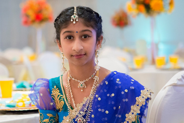 Megha Half Saree Function