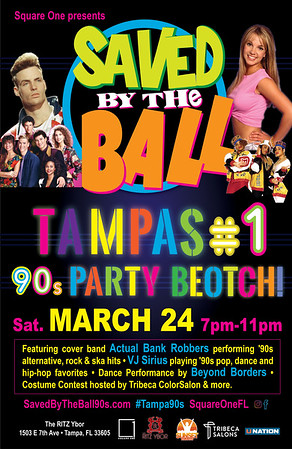 Saved By The Ball 90s Party 2018