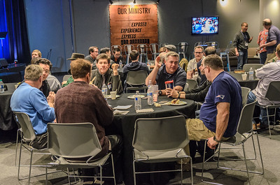 Saddleback Irvine South Men Fellowship Man Up with Andy Pettitte - photo by Allen Siu 2017-02-15