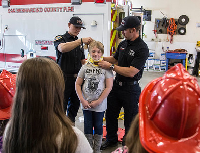 Girl Scouts, Station 304 Visit