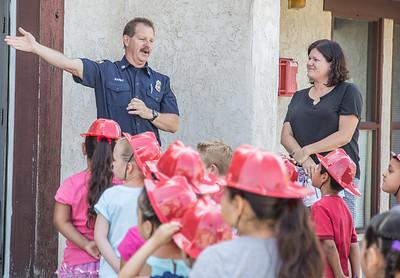 Mentone Elementary School Visits Station 9, May 2016