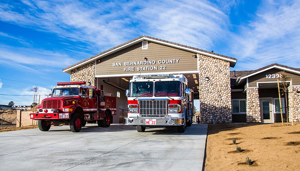 Victorville Station 22 Grand Opening, Dec. 2013