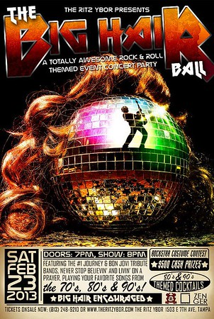 The BIG HAIR Ball (May 17, 2013)