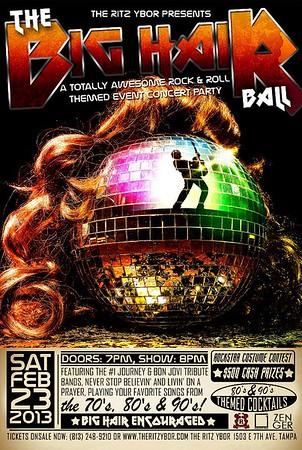 The BIG HAIR Ball (May 17, 2013)