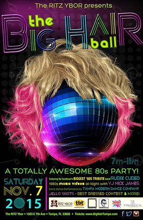 The BIG HAIR Ball: a Totally Awesome 80s Party