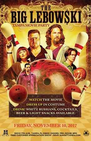 The Big Lebowski Movie Party (November 10, 2017)