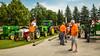 The 2015 Eden Foundation Tractor Trek fund raising event near Winkler, Manitoba, Canada.