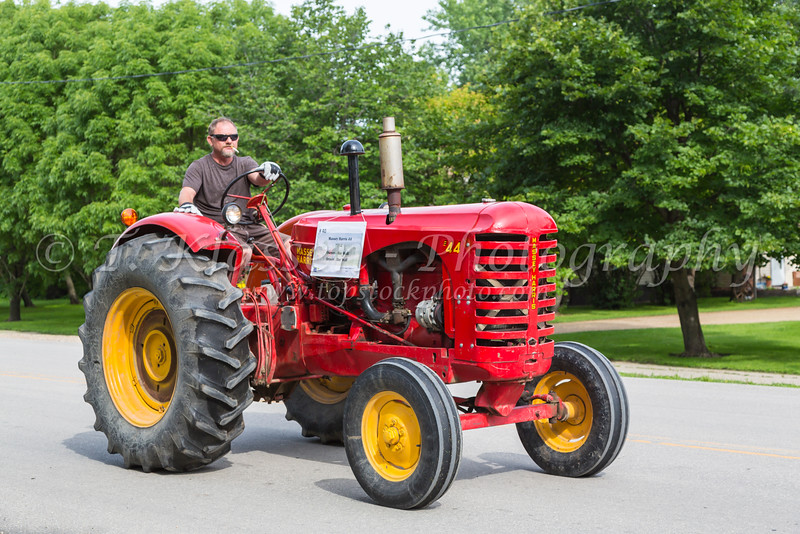 The 2016 Eden Foundation Tractor Trek Fund Raising event held on July 8th in Southern Manitoba, Canada.