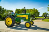 The 2017 Tractor Trek, Eden Foundation fund raising event near Winkler, Manitoba, Canada.