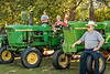 The Eden Foundation 2018 Tractor Trek fundraising event featuring vintage farm tractors traveling a route through rural southern Manitoba, Canada.
