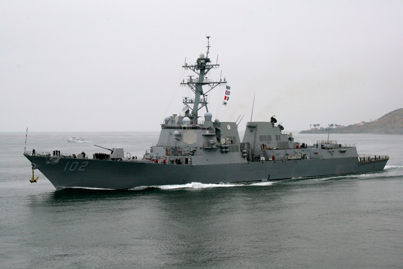 USS Sampson (DDG-102), US Navy Destroyer <br /> Photo Credit:  James Reardon