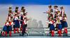 The Winnipeg Mennonite Children's Choir performing at Buhler Hall in Gretna, Manitoba, Canada.
