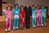 The Lieutenant Governor of Manitoba, John Harvard presenting the members of the Yip's Chines Children's Choir with gifts on July 22, 2009 in Winnipeg, Manitoba, Canada.