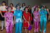 Yip's Chinese Children's Choir from Hong Kong along with the Winnipeg Children's Choir in performance on July 22, 2009 in Winnipeg, Manitoba, Canada.