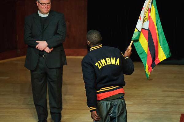 International Flag Ceremony 2012