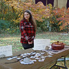 Senior Anna Ellison selling baked goods to raise money for charity!