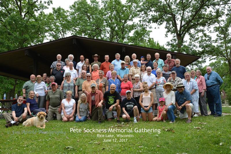 Pete Sockness Memorial Gathering