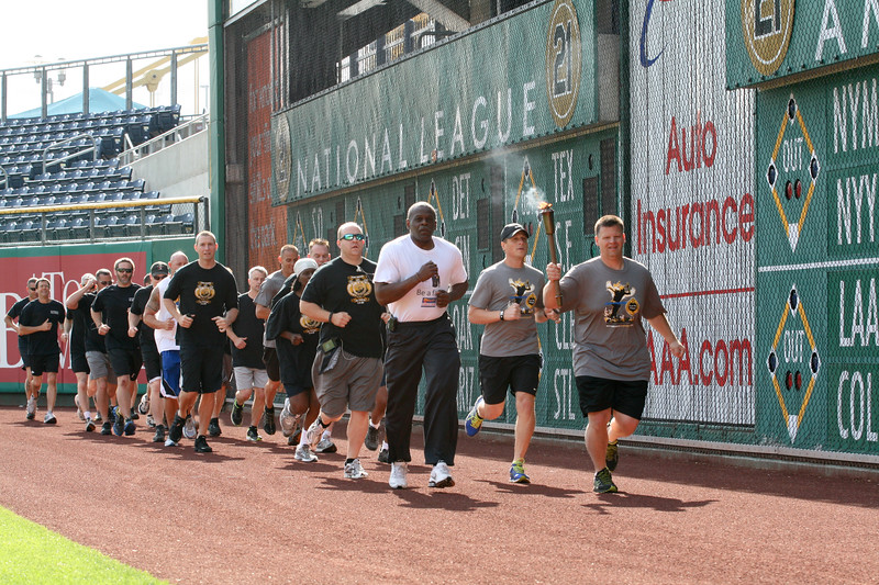 """Be A Fan"" Torch Run (2012)"