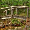 Bridge at Jordan Pond Trail