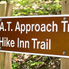 The trail to Hike Inn is also the appalachian approach trail, which is further.