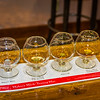 After the bottling plant tour we were presented with samples.  Each person on the tour over 21 is offered samples of four of their products.  Yes, they card everyone.