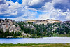 Alpine lakes on Beartooth Highway