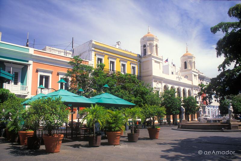 Plaza de Armas, Old San Juan, P.R.