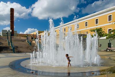 Plaza del Quinto Centenario, Old San Juan, P.R.