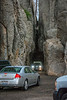 These tunnels are the heart of Needles Highway.  It can get a little crazy here unless everyone is patient.