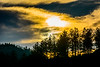 A South Dakota sunset