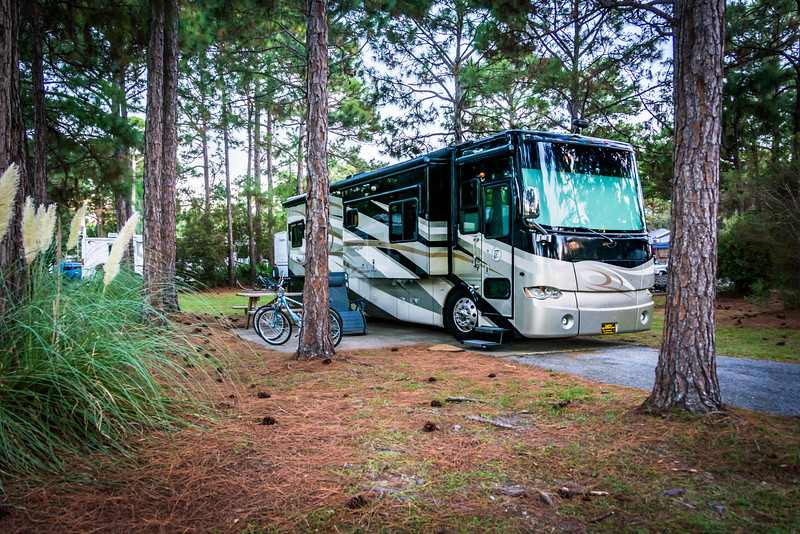 Home on the road in Topsail State Park - FL