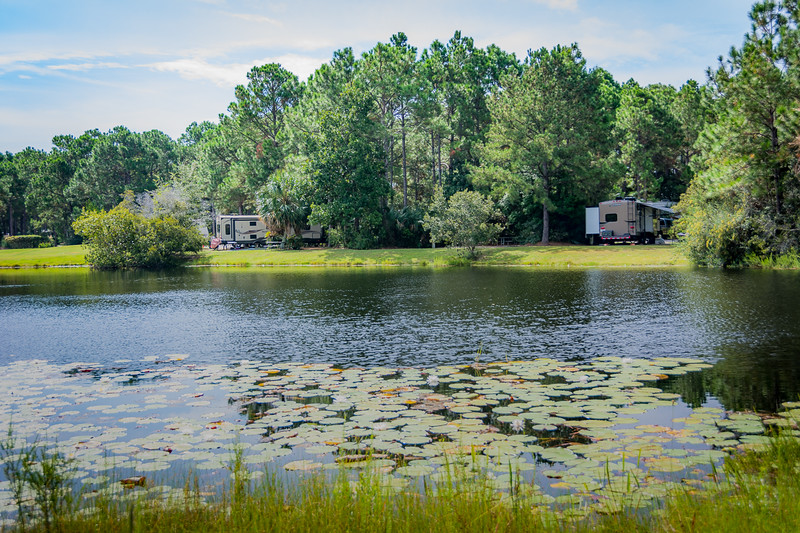Lake in Topsail State Park - FL