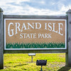 The state park is at the tip of Grand Isle.  Grand Isle is at the southern tip of Jefferson Parish and is the only inhabited barrier island in Louisiana.