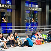 aeamador©-HK08_DSC0084  Hong Kong, downtown area, near ifc tower. I was very impressed by the affluence evidenced in this area. Hong Kong is quite a chic and fine place.<br /> These are Filipino maids that fill the entire downtown public spaces (sidewalks, streets and plazas) for picnicking. There are thousands of them, spread all over. No husbands, no men, no children. Just the women. Sunday is their day off.