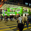 aeamador©-HK08_DSC0190      Hong Kong. Kowloon. Tsim Sha Tsui. Though not to be compared with what you find in Hong Kong island, it is quite a vibrant and lively city. People fill up the streets and sidewalks day and night for shopping, entertainment and more. Signs make a great show, especially at night, giving vibrancy and character to the city.