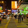 aeamador©-HK08_DSC0202      Hong Kong. Kowloon. Tsim Sha Tsui. Though not to be compared with what you find in Hong Kong island, it is quite a vibrant and lively city. People fill up the streets and sidewalks day and night for shopping, entertainment and more. Signs make a great show, especially at night, giving vibrancy and character to the city.