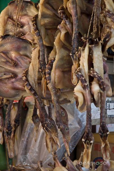 aeamador©-HK08_DSC0242 Saukiwan market. Saukiwan, Hong Kong island. <br /> Duck, duck, duck!